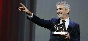 Alfonso Cuarón muestra el León de Oro