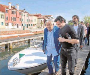 José Mujica en Venecia